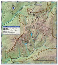 Merck Forest Map