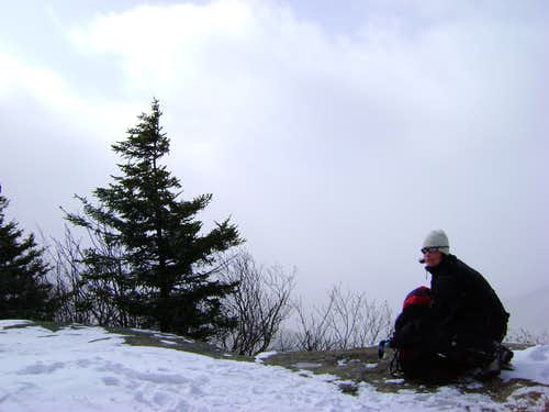 Top of plateau Mt