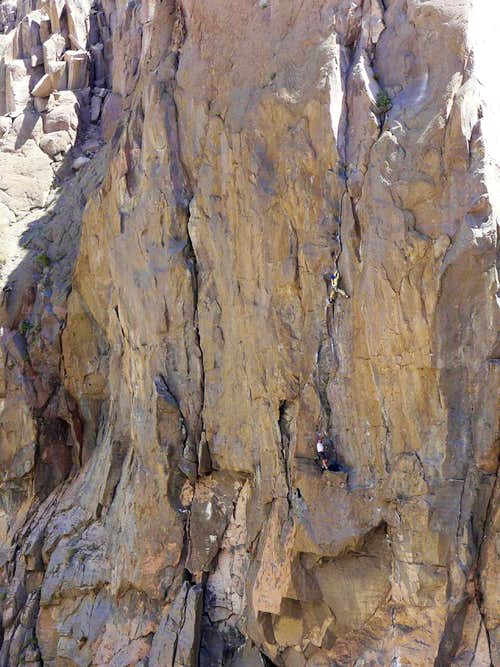 Climbers on SuperFly