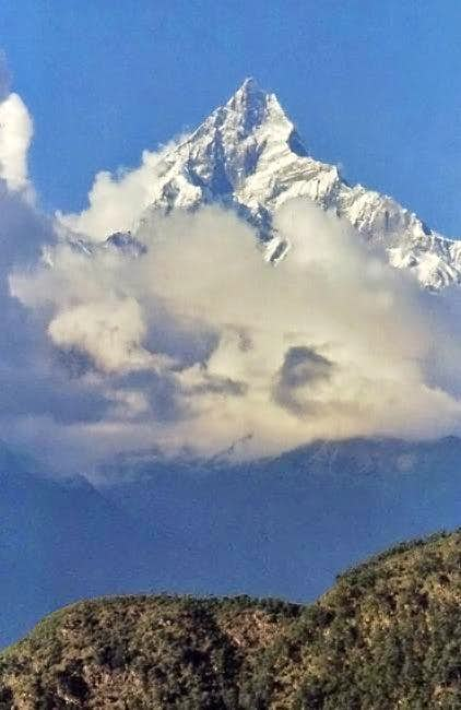 Machhapuchare as it looked in...