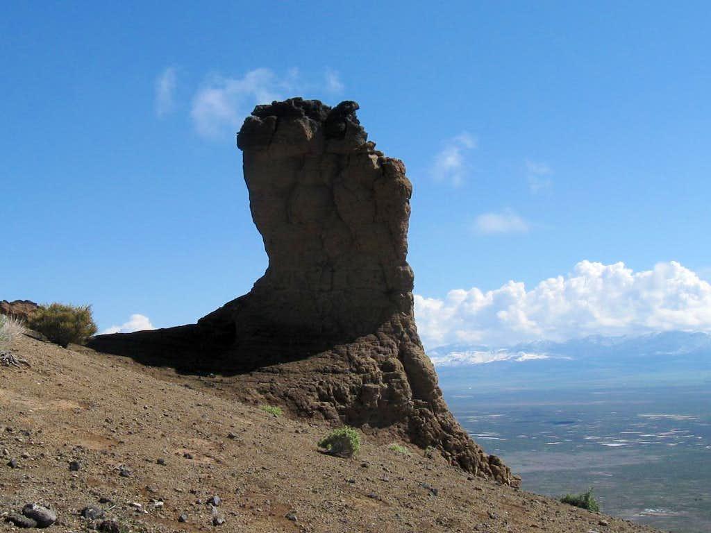The thumb (Pahvant Butte)