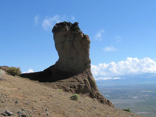The thumb (Pahvant Butte)