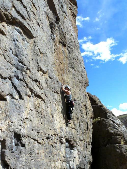 Steep 10b - Lower Gorge