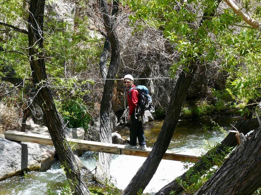 Crossing Owens River
