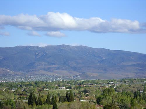 Ophir Hill from Reno