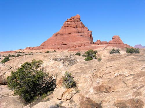 The Big Red Butte