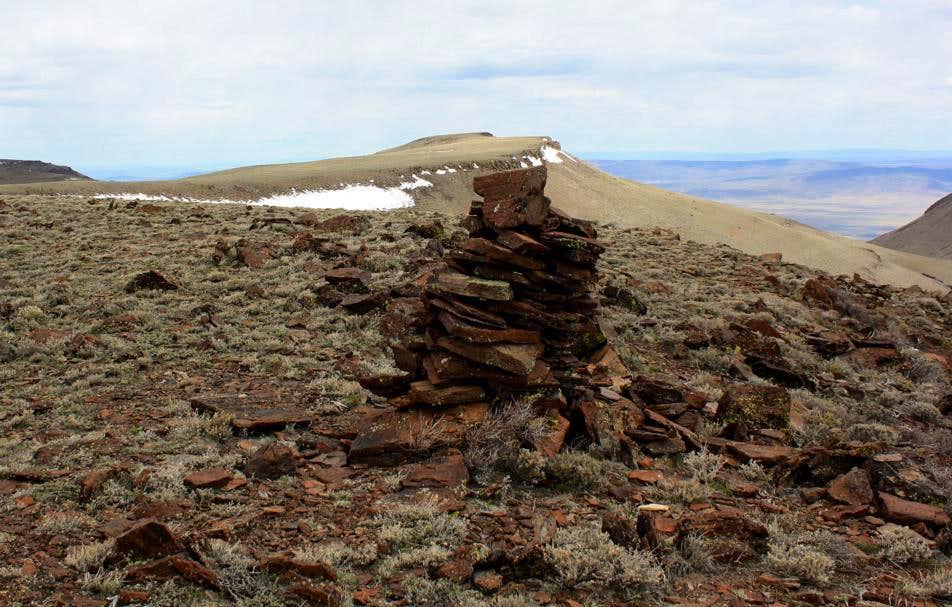 False Summit Cairn