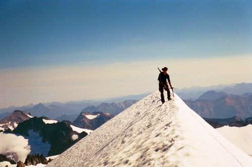 Eldorado Glacier, East Ridge route