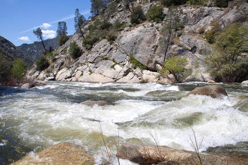 Whitewater in North Fork Kern River