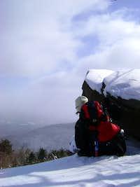 Back side of Plateau