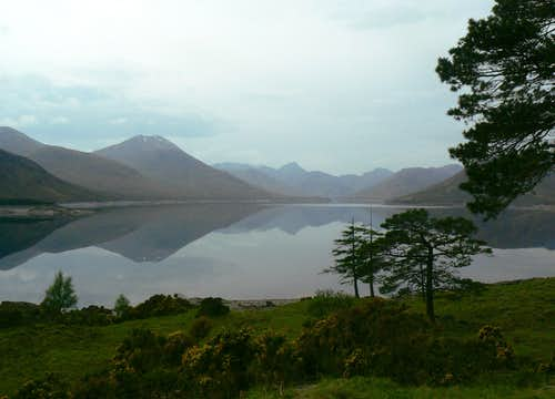 Loch Quoich Reflection