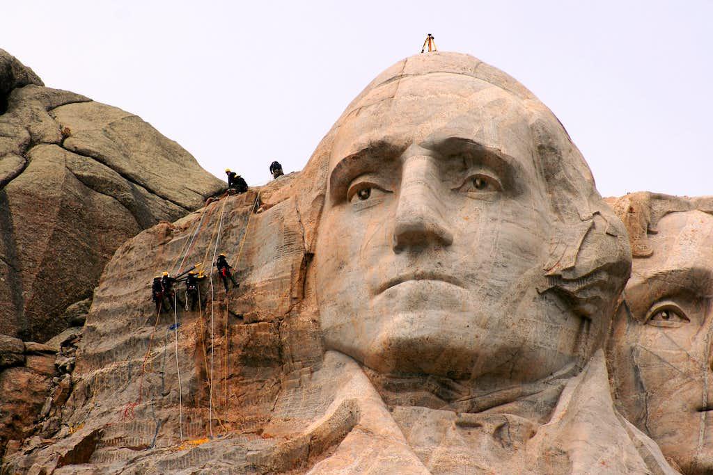Climbing George