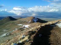 New Pass Peak, summit view north