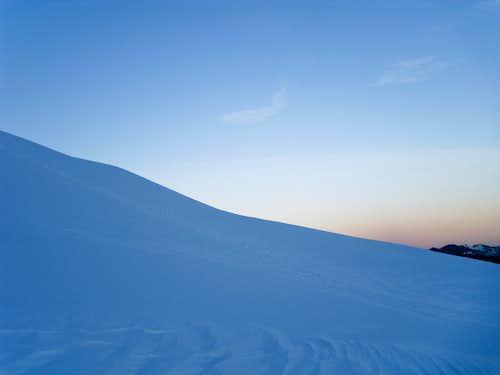 Sunrise over Heliotrope Ridge