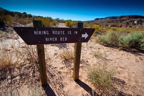 Mile 0 - Hiking Instructions