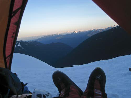 My First Alpine Sunrise