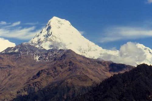 Annapurna South from near...