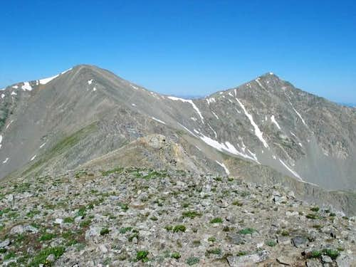 Grays and Torreys from summit...