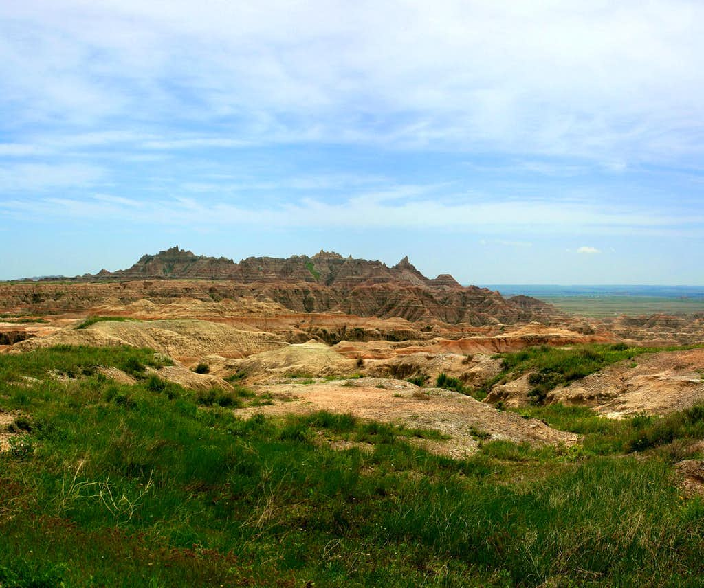 View from the Castle Trail, Badlands NP
