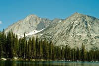 Mt. Conness from Lower Young Lake
