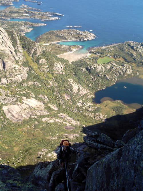 Vågakallen's North Ridge