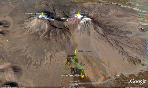 San Pedro route