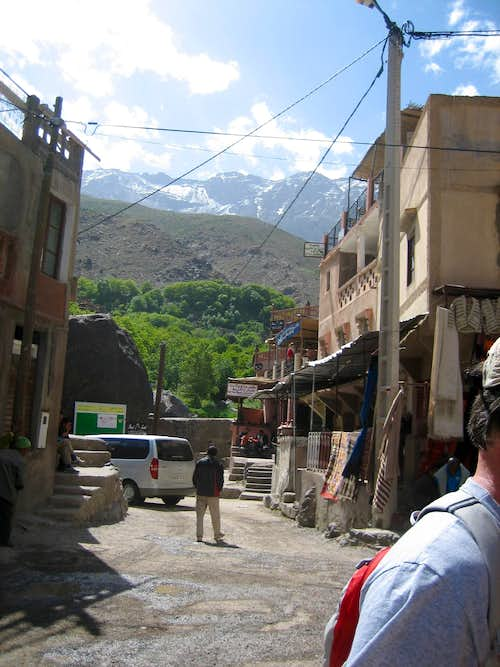 The Village of  Imlil  -- Starting Point (for trip report)