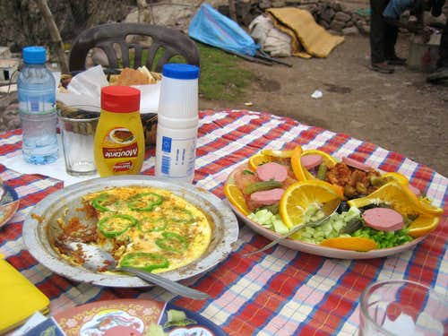 Lunch at 2030 Meters (for trip report)