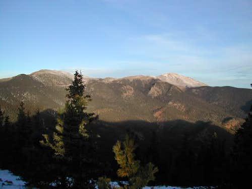 During sunrise hike on Mount...