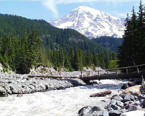 Mount Rainier as seen from...