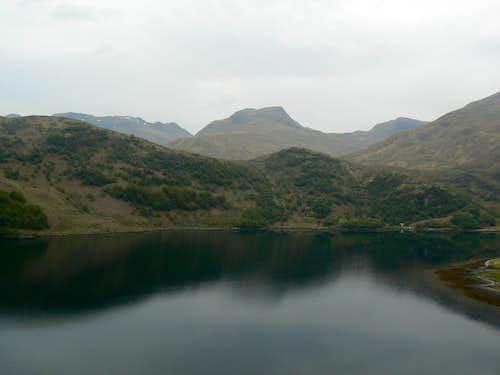 Sgurr na Sgine over Loch Hourn