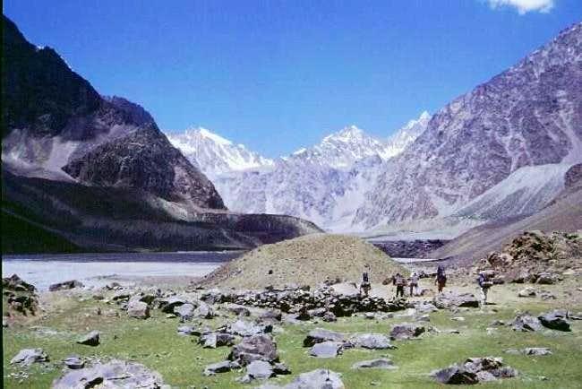 Trekking to BC in Kulakmali...