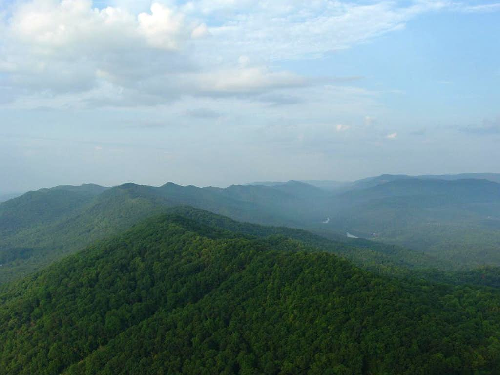 Tri-State Peak from The Pinnacle