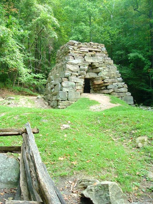 Old Iron Furnace at Tennessee Road Trailhead
