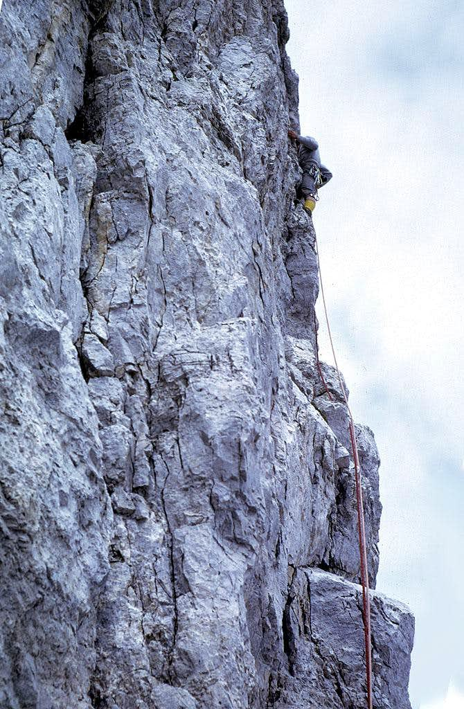 Campanil Basso - Preuss route