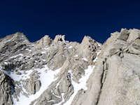 Lone Pine Peak North Ridge overview