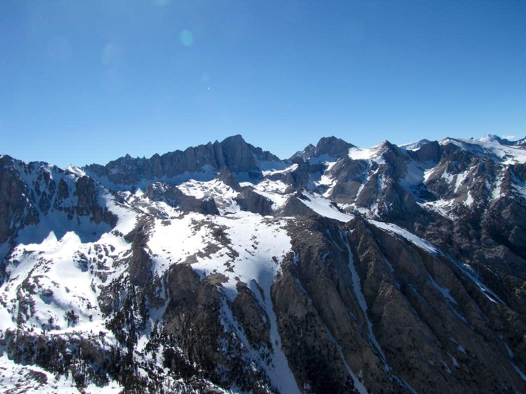 Mount Whitney from Lone Pine Peak