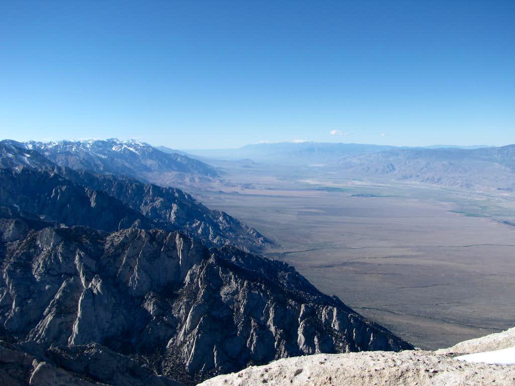 Owens Valley from Lone Pine Peak