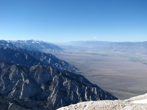 Owens Valley from Lone Pine Peak