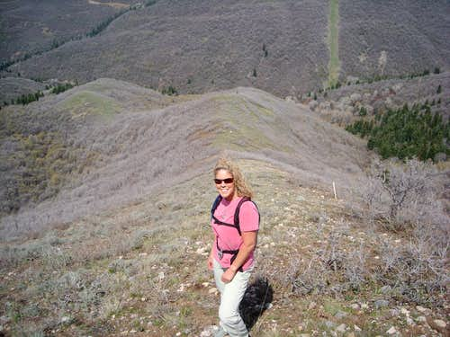 Ridgeline climb