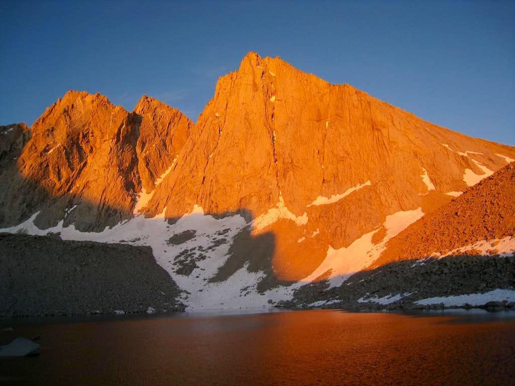 Morning Light on Mount Tyndall