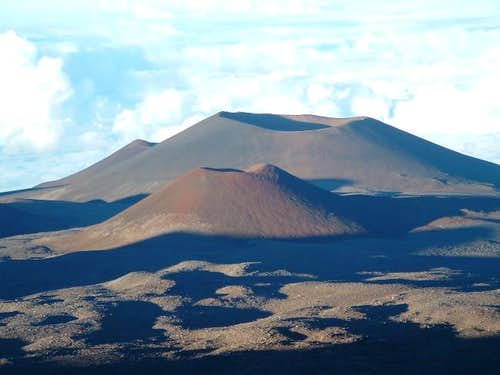 Cinder cones on East slope of...