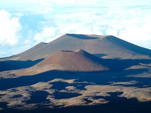 Cinder cones on East slope of...