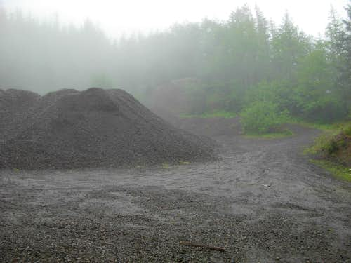Borrow Pit On Walville Peak