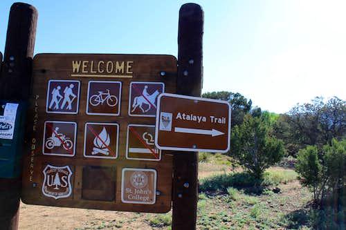 Atalaya trailhead