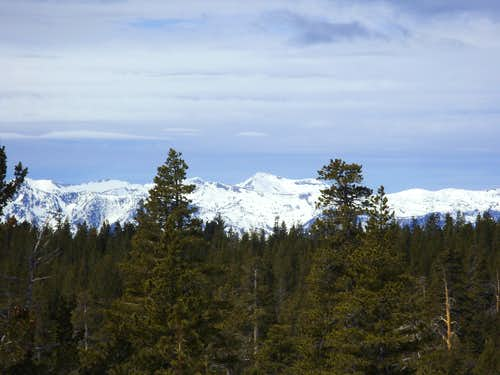 Dicks Peak 9974' from South Camp Peak