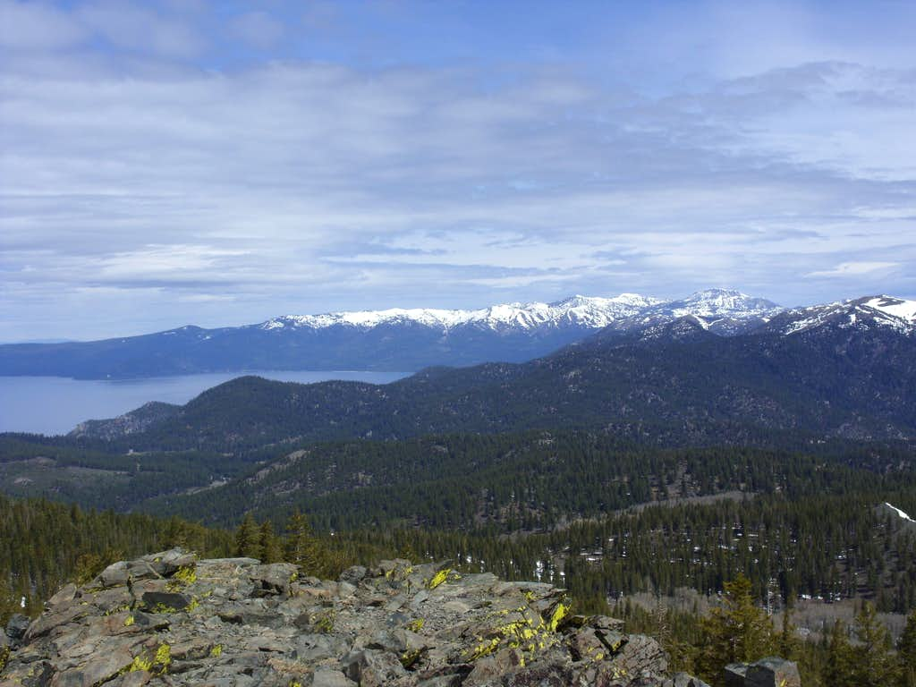 Mount Rose Wilderness from the summit
