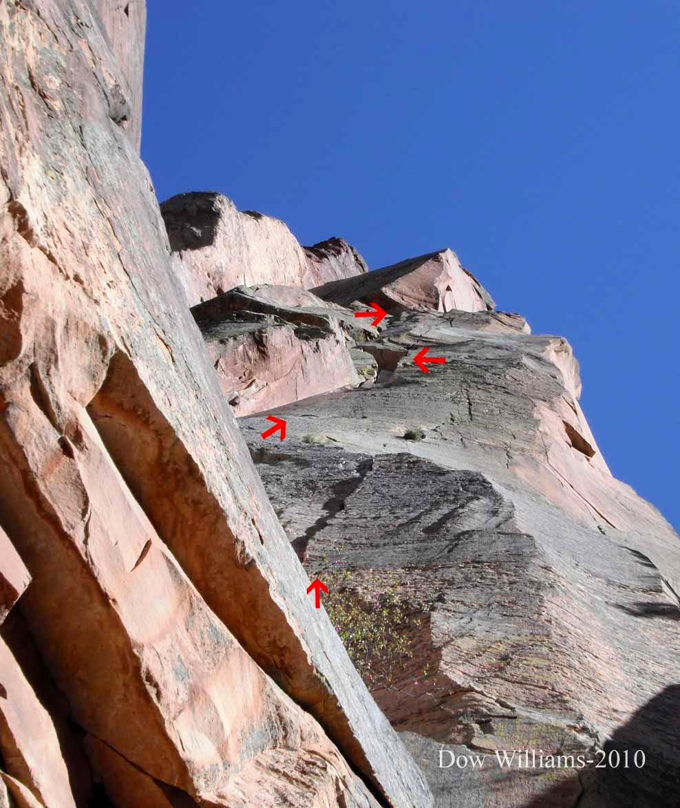 Cloud Tower, 5.11d, 7 Pitches