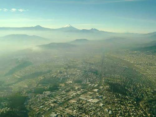 Quito from the air.
