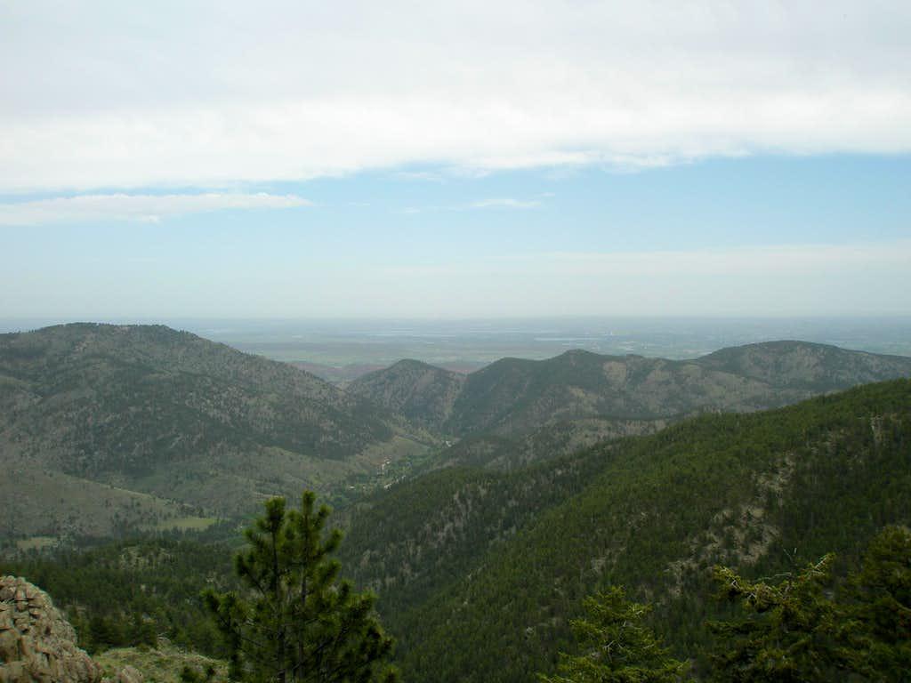 Big Thompson Canyon and the Plains
